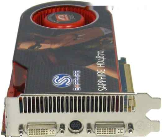 Sapphire HD 4870 512MB gddr5 PCI-E новая