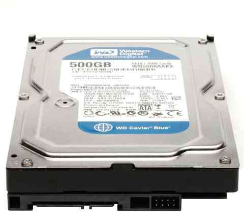 WD Blue WD5000aakx 500GB