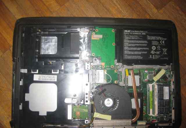 Ноутбук Asus K50C) материнская плата + процессор