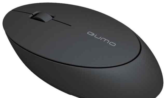 Беспроводная мышь Qumo iO5W (черная)
