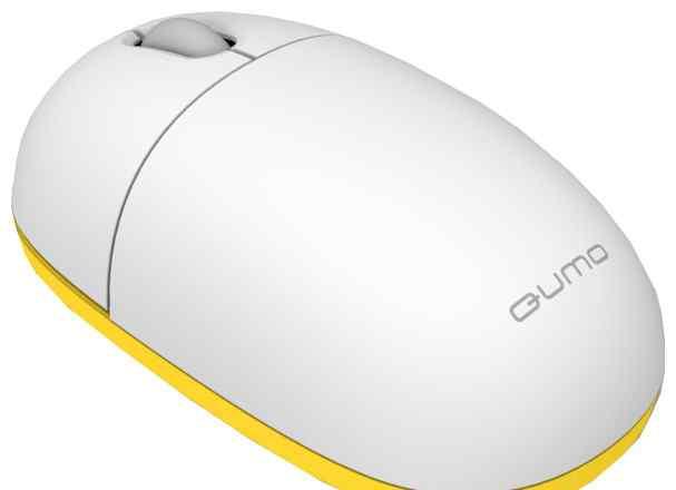 Беспроводная мышь Qumo iO3WW (светлая)