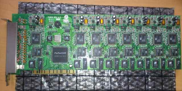 IDC M Modem 56K 8-port modem card