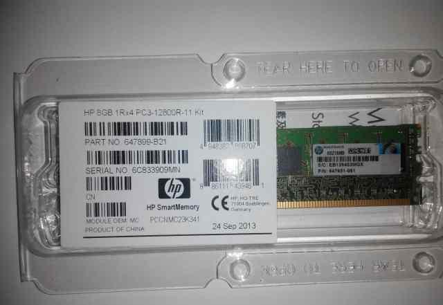 RAM HP 8GB DDR3 1600мгц PN 647899-B21