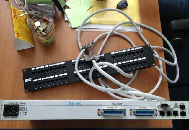 VoIP шлюз Eltex TAU-36. IP
