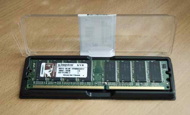Модуль памяти Kingston KVR400X64C3A/512