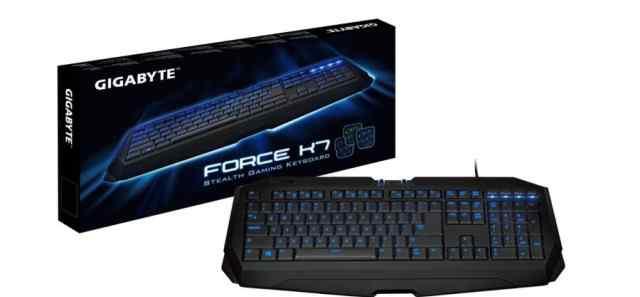 Игровая клавиатура Gigabyte Force K7 Black
