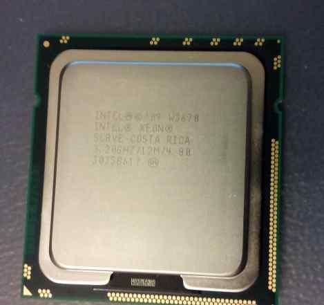 Процессор Intel Xeon W3670 3.20GHz/12Mb/LGA1366