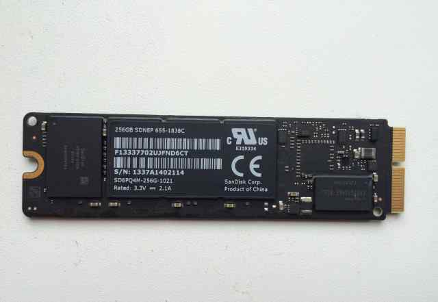 SSD 256 Gb для MacBook AIR 2013
