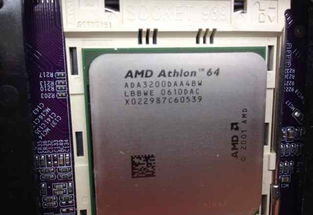 AMD Athlon 64, socket 939