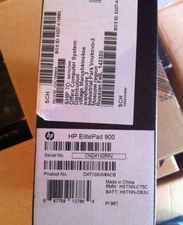 HP ElitePad 900 (1.5GHz) 32Gb 3G