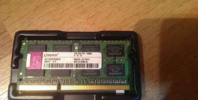 Оперативная память Kingston DDR3-1333 2GB SO-dimm