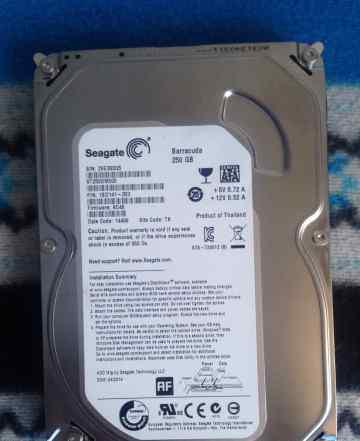 Жесткий диск hdd SATA Seagate 250gb