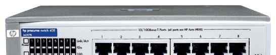 Свитч 8-портовый HP ProCurve switch 408