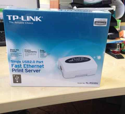 Принт-сервер TP-link TL-PS110U (Принт - сервер )