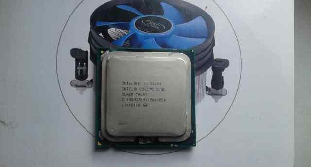 Intel Core 2 Quad Q6600 Kentsfield 2400MHz