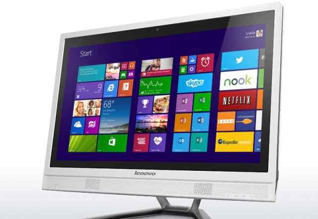 моноблок Lenovo C470, новый белого цвета
