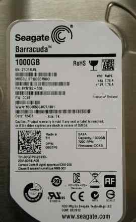 HDD 1Tb Seagate Barracuda