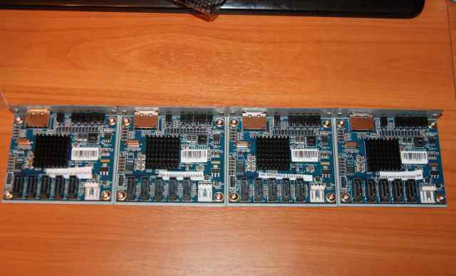 Концентратор 1 esata to 5 SATA port Multiplier new