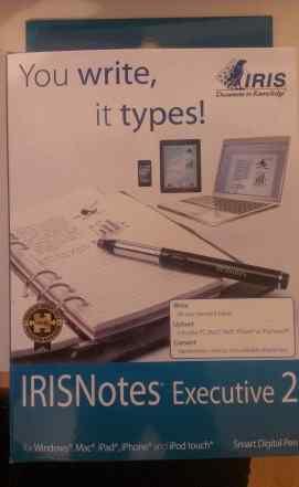 IrisNotes Executive 2 ручка сканер