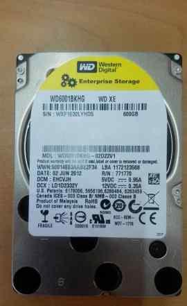 HDD WD 600Gb SAS 2.5