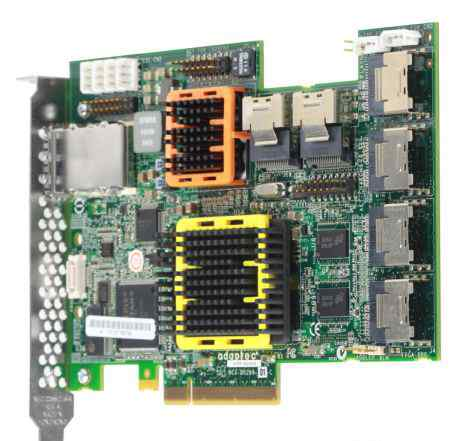 Adaptec ASR-52445 24 SAS + 4 SAS (28) raid PCI-E
