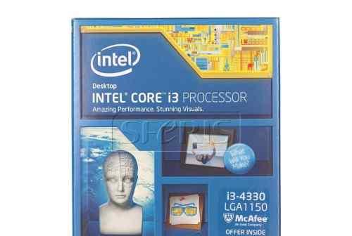 Процессор i3 4330 BOX 3.5 Ghz 4Mb LGA 1150 Новый