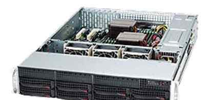 Сервер 2U на базе Supermicro