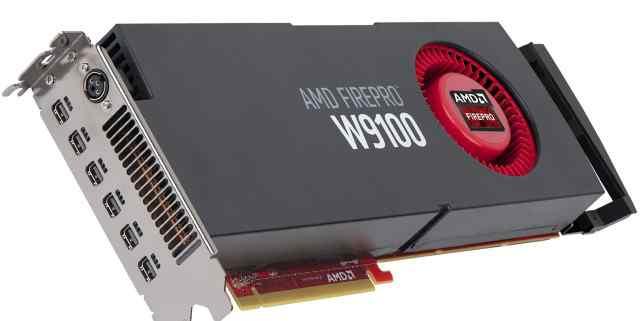 AMD FirePro W9100 (новая)