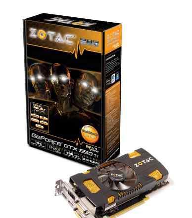 NVidia GeForce GTX 550Ti + Блок Питания 500W