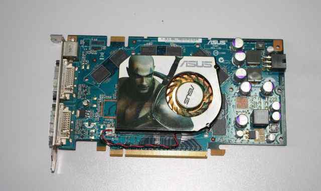 Видеокарта PCI-E asus GeForce 7900 GS 256Mb