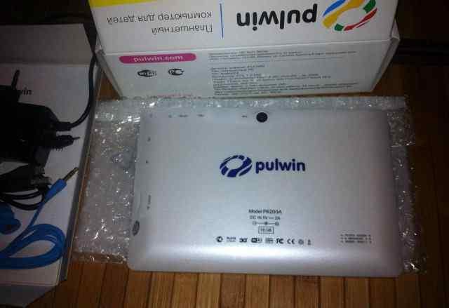 Детский планшет pulwin p6200a