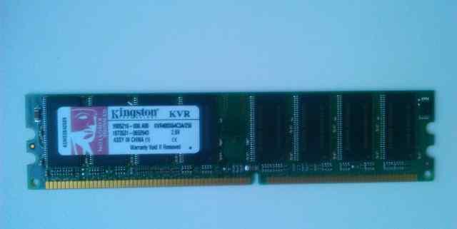 Модуль памяти Kingston DDR 256 Mb, 400 MHz