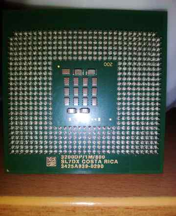 Процессор Intel Xeon 3.2GHz/1M/800 SL7DX