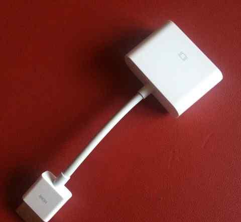 Переходник hdmi - DVI (Apple)