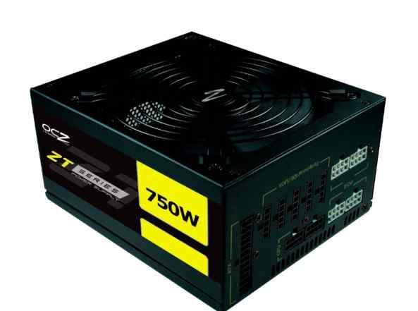 OCZ-ZT750W / 750 Вт, отстегивающиеся кабели