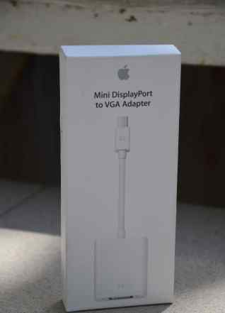 Переходник Apple Mini DisplayPort to VGA нов. ориг
