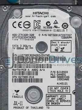 жесткий диск hitachi 320 gb HTS723232A7A364