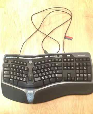 Microsoft Natural Ergonomic Keyboard 4000 Black US