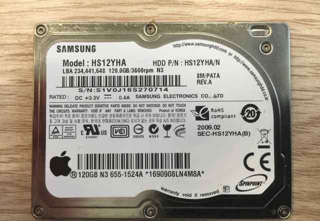 Жесткий диск Samsung 120Gb 1.8