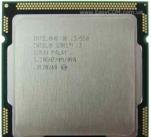 Intel core i3 550 3.2GHz 4 ядра