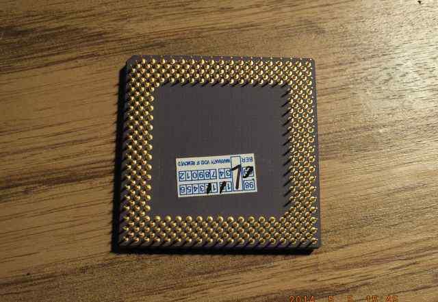 Процессор ADM K6-2/266 AFR