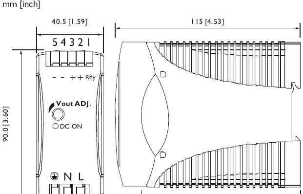 AC-DC сетевой преобразователь Chinfa Electronics