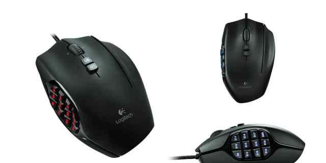 Мышь Logitech G600
