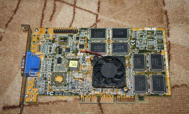 Asus AGP V3800pro-32Mb
