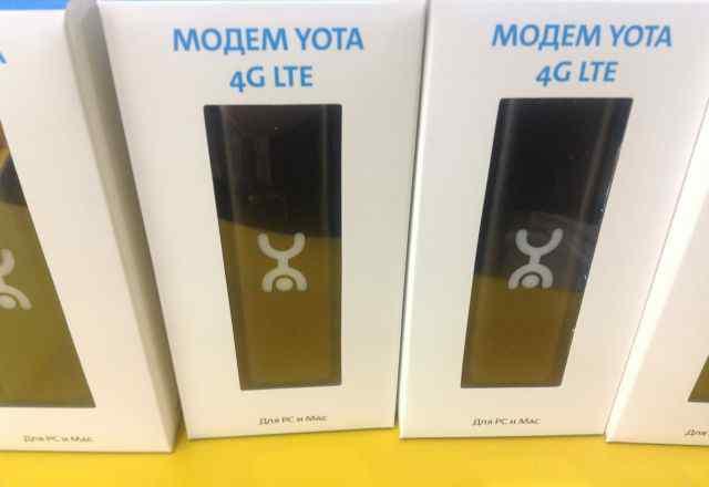 Yota 4G LTE. Новые. В наличии