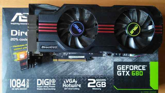 Продаю asus Geforce GTX 680