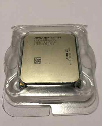 Процессор CPU AMD Athlon 64 + кулер