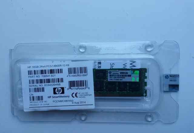 Оперативная память 16GB HP 708641-B21