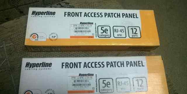 Патч-панель 12 портов Hyperline