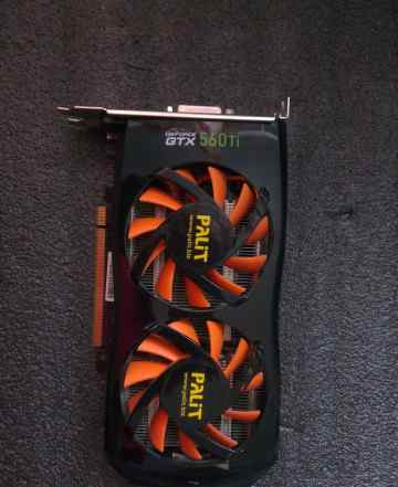 Palit GeForce GTX 560 Ti 900Mhz PCI-E 2.0 1024Mb